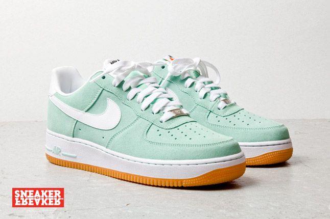 Nike Air Force 1 Low Suede Teal 1 1