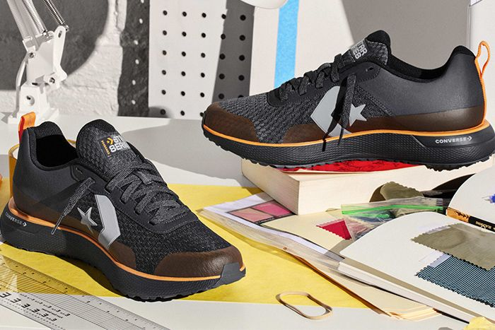 Converse Star Series Tinker Hatfield Rn Run Black Release Date Pair