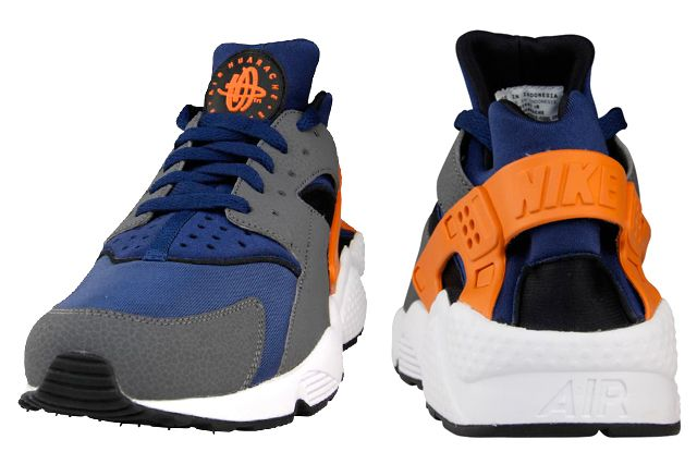 Nike Air Huarache Brave Blue Urban Orange