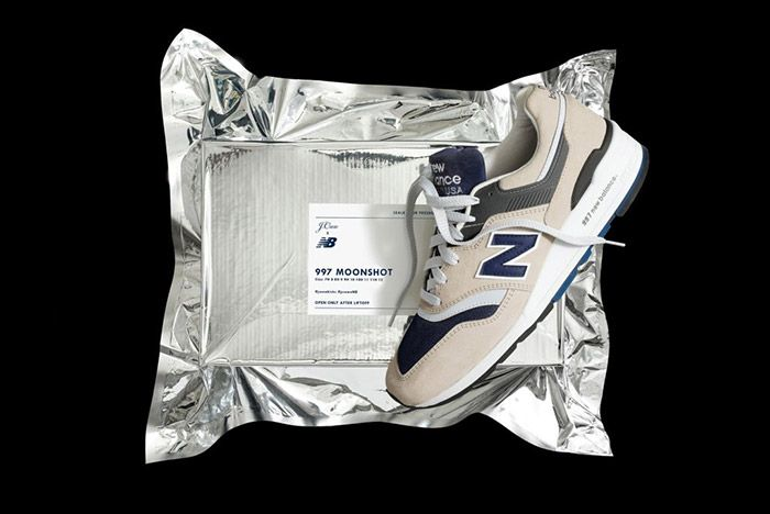 J Crew New Balance 997 Moonshot 4