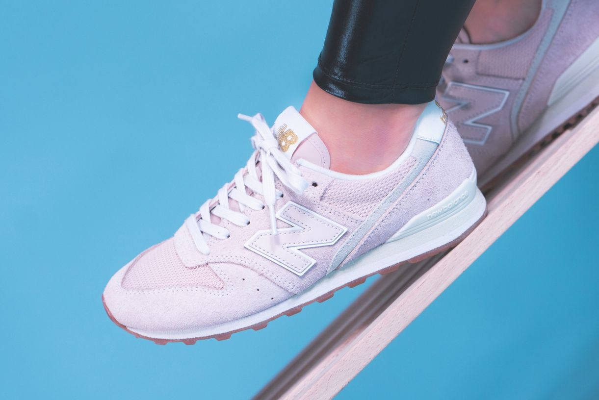 New Balance 996 (Rose/White)