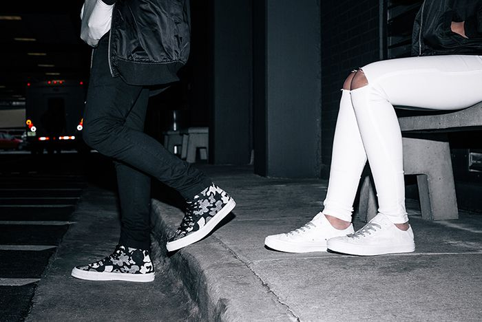Converse Chuck Taylor All Star Ii Reflective Print Collection 11