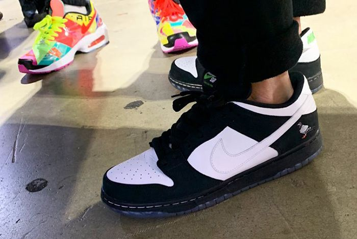 Jeff Staple Nike Sb Dunk Low Pigeon Green 1