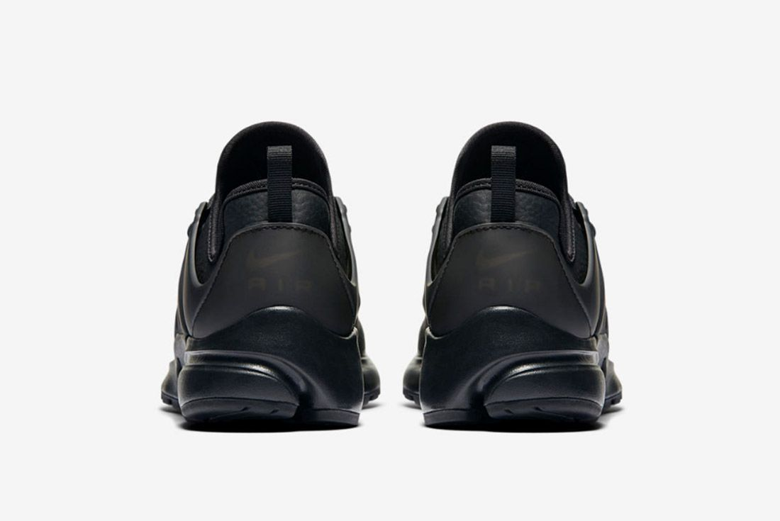 Nike Air Presto Premium Womens Beautiful Powerful Black 2