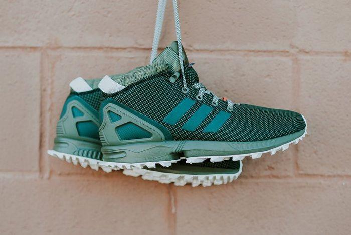 Adidas Zx Flux 58 Tr Green A