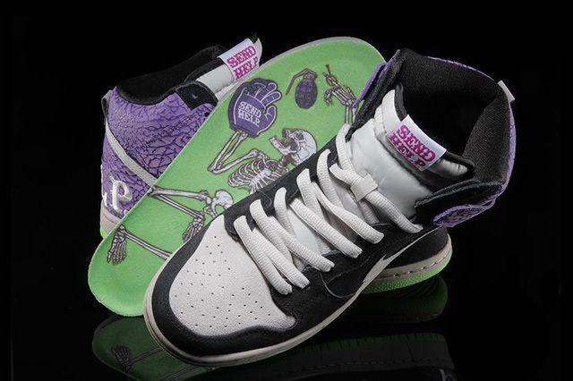 Nike Dunk Hi Premium Send Help 6