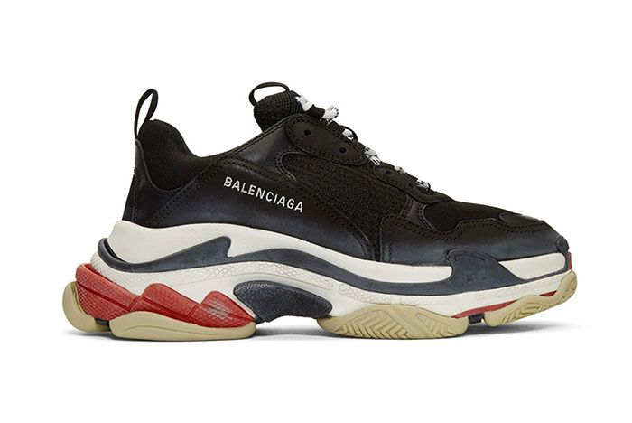Balenciaga Triple S Sneaker Smudged Distressed Colorway 4 Side