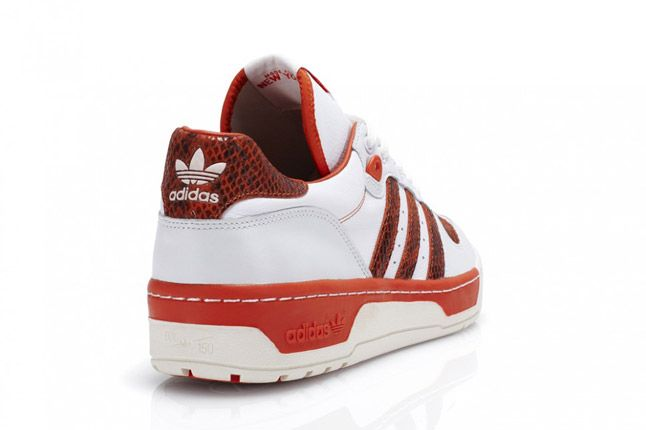 Adidas Rivalry Lo Red Quater Back 1