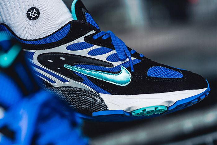 Nike Air Ghost Racer Black Hyper Jade Racer Blue Wolf Grey At5410 001 Release Date Medial Hero