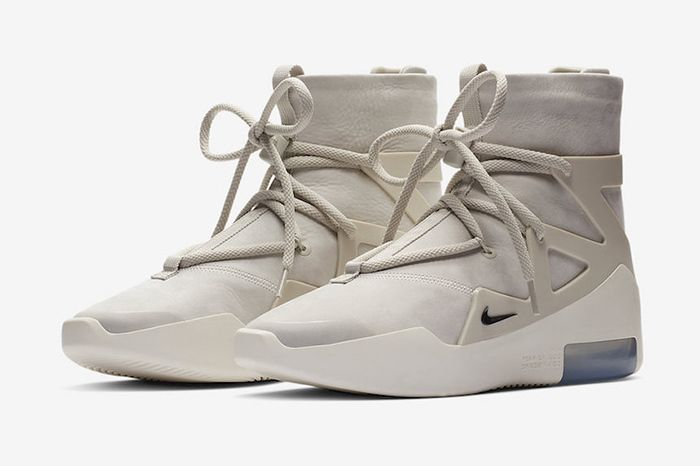 Nike Air Fear Of God 1 Black Official 6