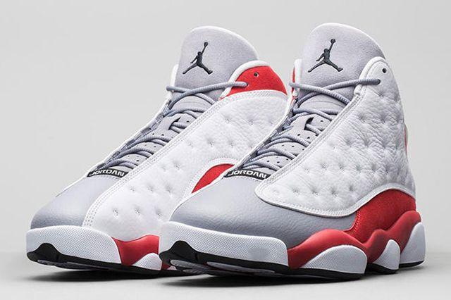 Air Jordan Xiii Grey Toe