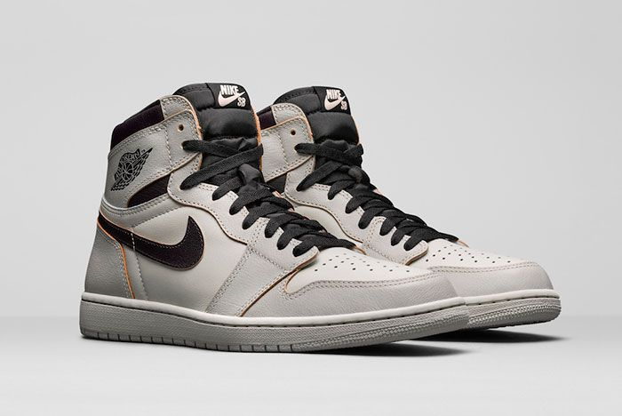 Nike Sb Air Jordan 1 High Og Light Bone Cd6578 006 Release Date Pair