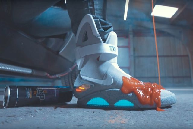 Crep Protect Goes Back To The Future 1