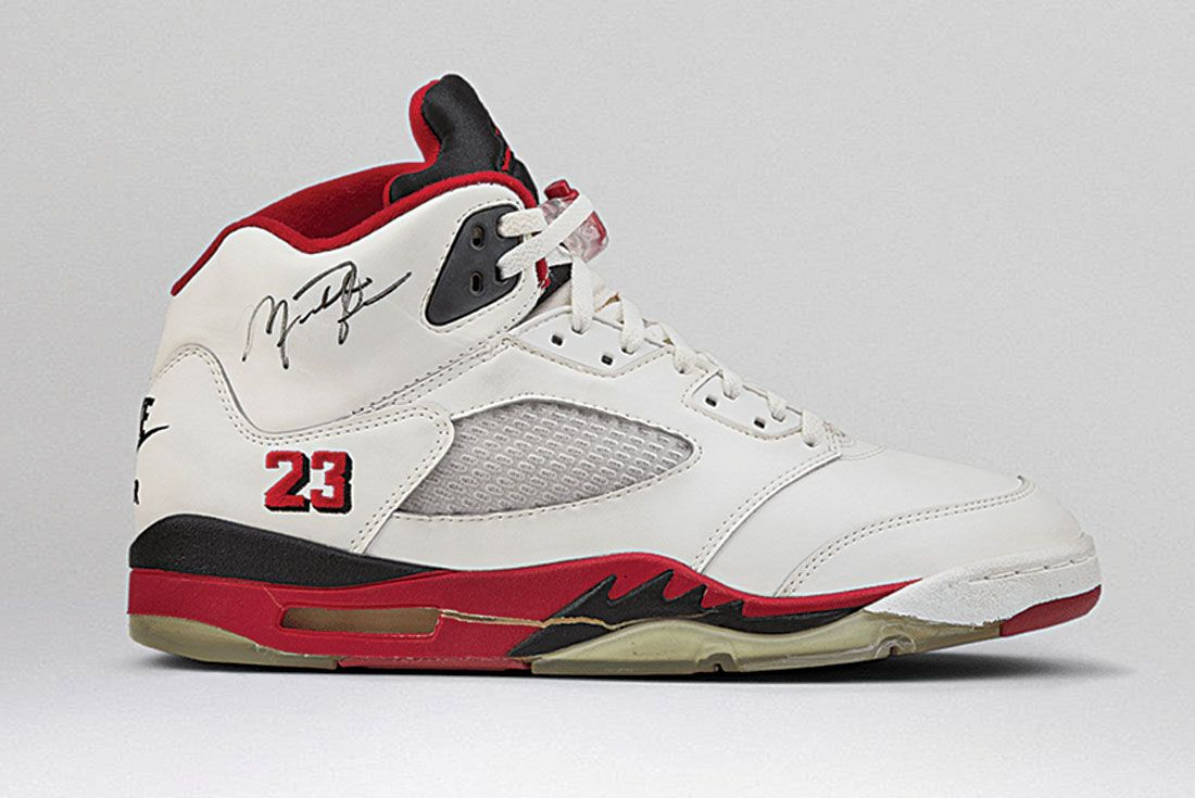 Air Jordan 5 Fire Red
