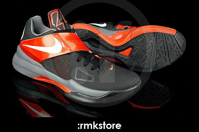 Nike Kd 4 Black Team Orange 03 1