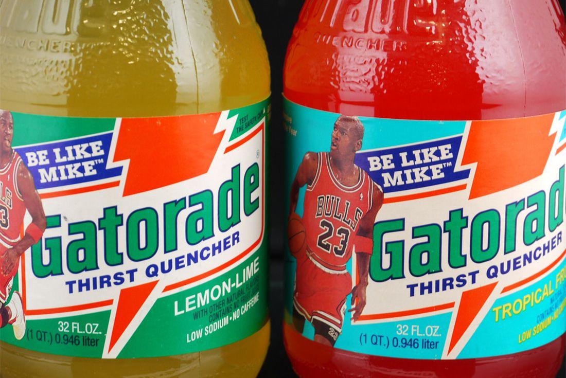 Michael Jordan Gatorade Drink Be Like Mike 1992 Bottle Vintage Sneaker Freaker 5