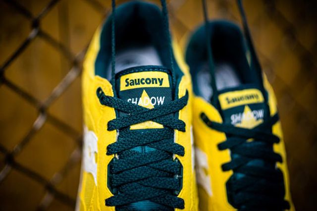 Saucony Shadow 5000 Yellow Green 4