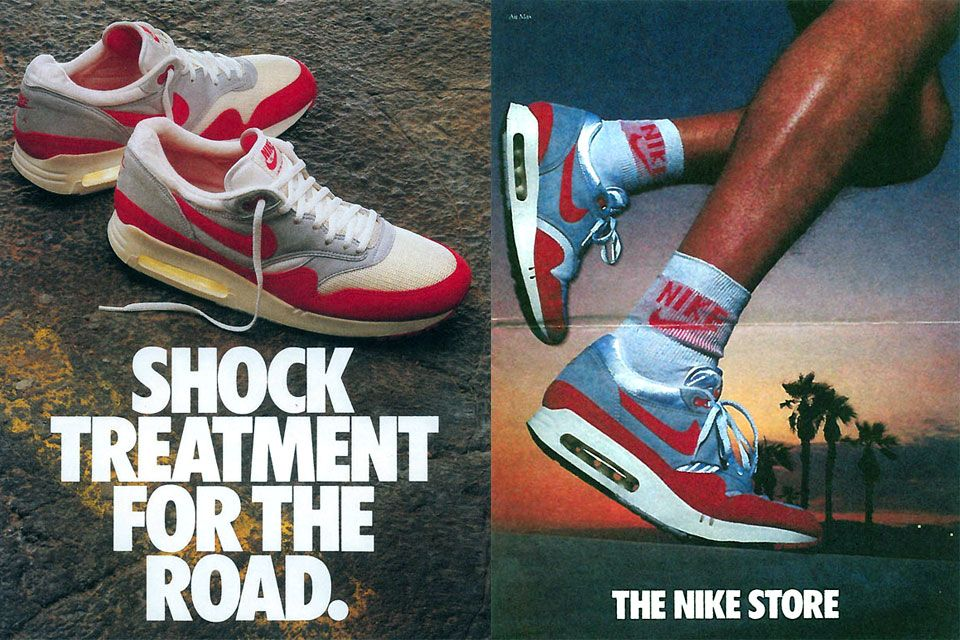 1987 Air Max One Vintage Ads