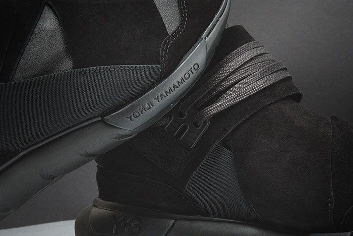 Adidas Y 3 Qasa High Triple Black 3