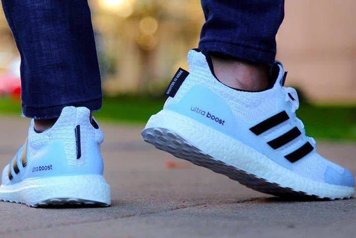 Got Adidas White Walker Ultraboost 2