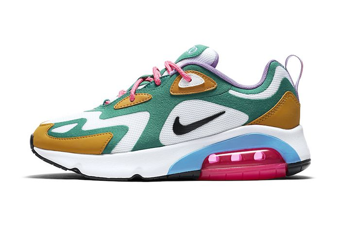 Nike Air Max 200 Mystic Green At6175 300 Release Date Lateral