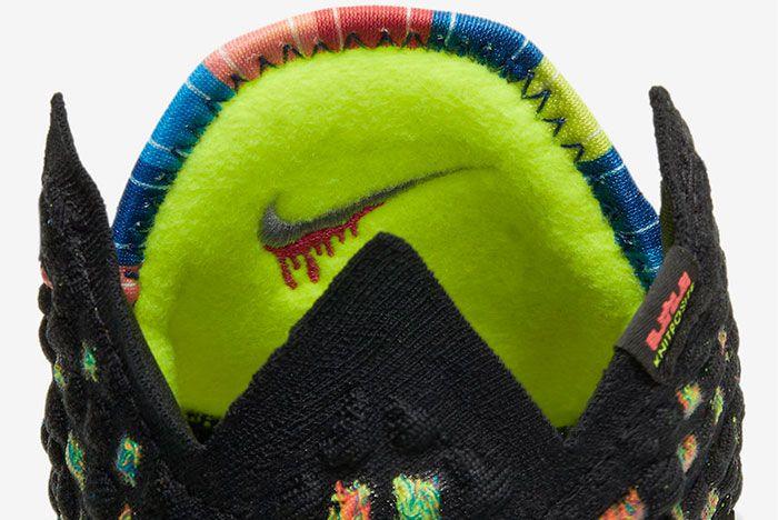 Nike Lebron 17 James Gang Tongue