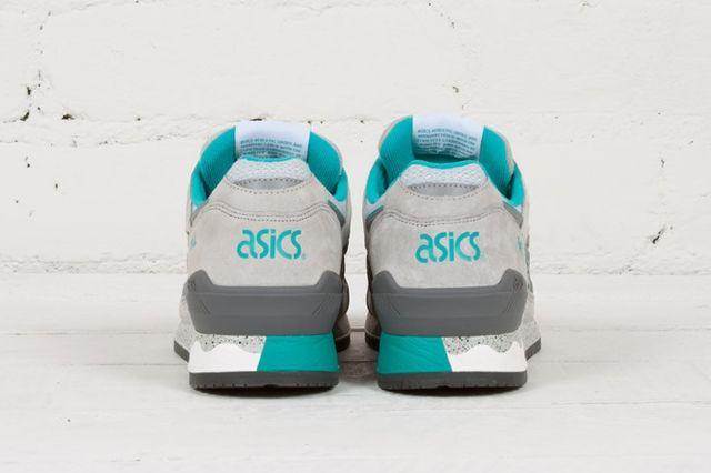 Asics Gel Respector Soft Grey Teal 3