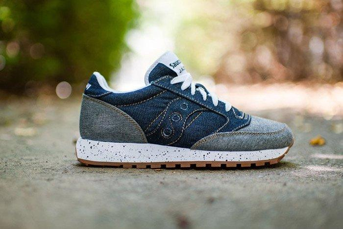 Saucony Jazz Original Dark Denim Gum 1