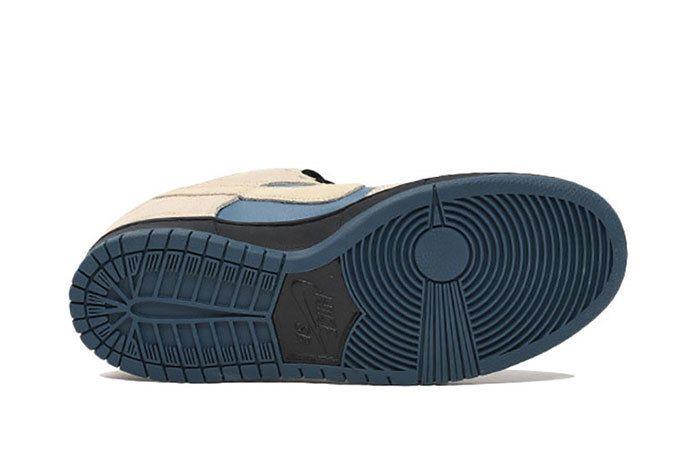 Nike Sb Dunk Low Pro Cream Blue 5