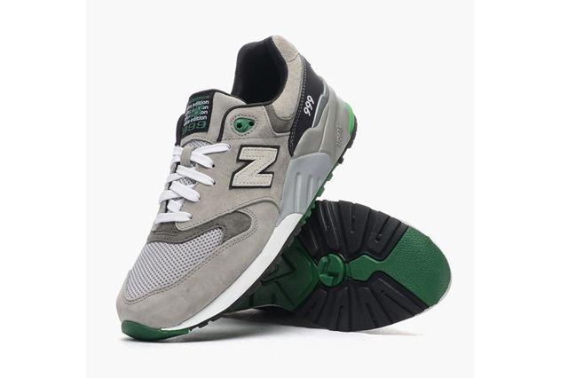 New Balance 99 Grey Sea Green 3