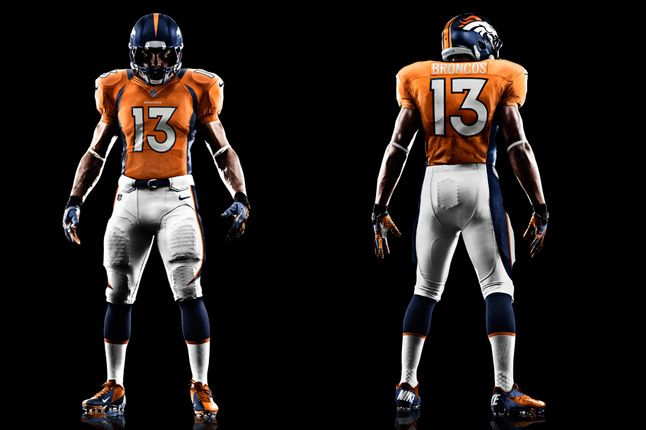 Denver Broncos Uniform 1