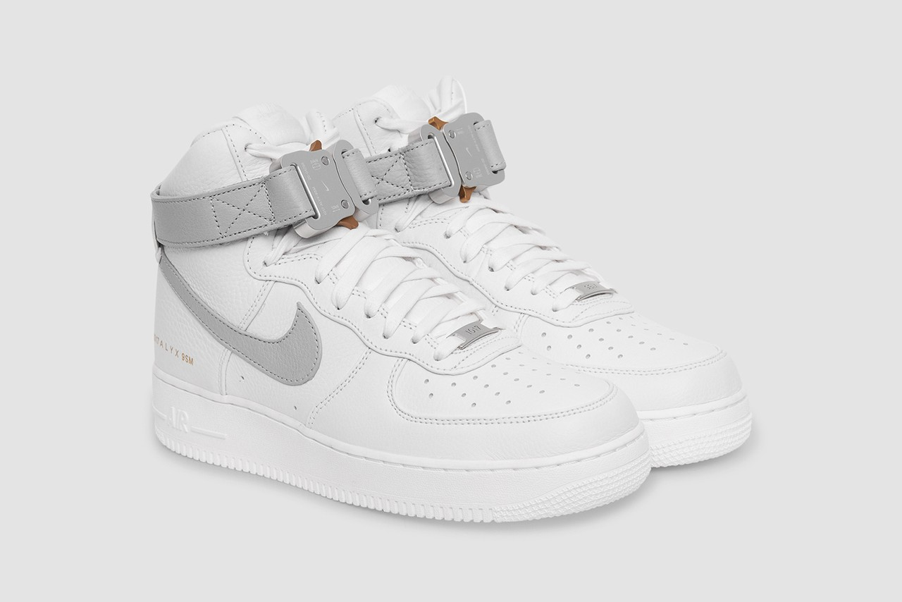 ALYX x Nike Air Force 1 High White Wolf Grey