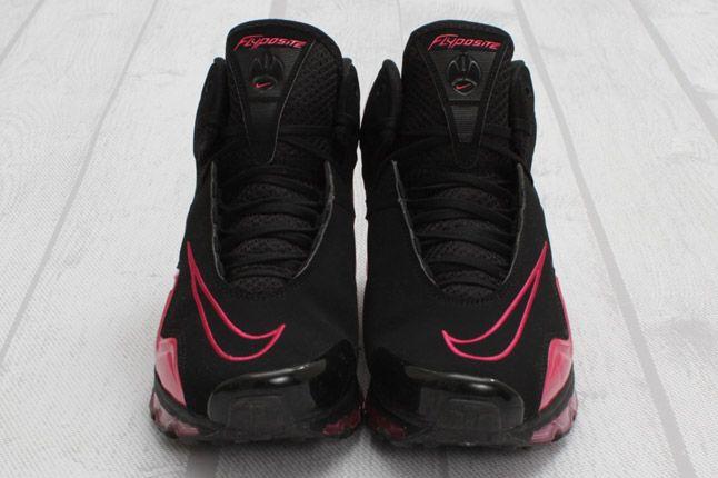 Nike Air Max Flyposite Vivid Pink Black Front 1