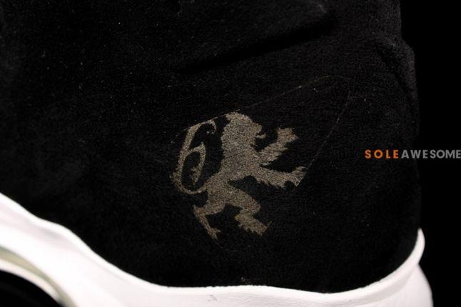 Nike Lebron X 10 Ext Black Suede Qs Detail 1