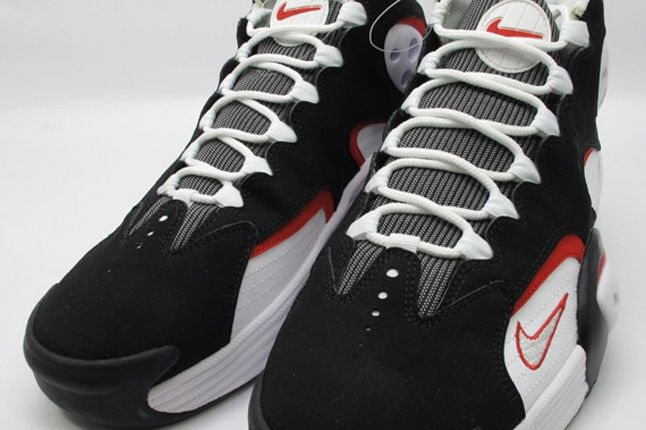 White Black Red Nike Air Flight One Front 1