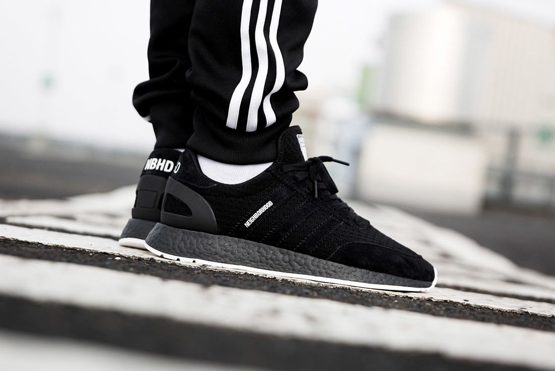 Neighborhood X Adidas Gazelle Nmd R1 On Foot Sneaker Freaker 6