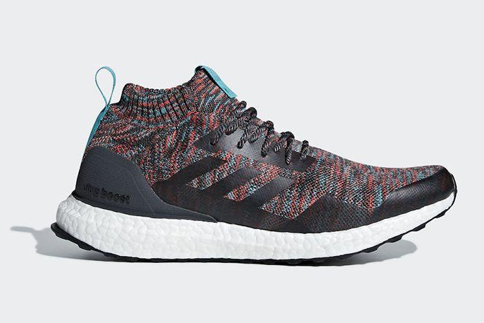 Adidas Ultra Boost Mid Multicolour Dark Grey 1