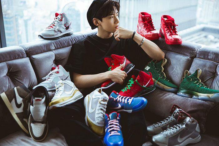 Bai Jing Ting Sneakers Posing1