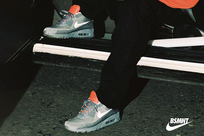 The Basement X Nike Air Max 90 Glasgow Lookbook On Foot1