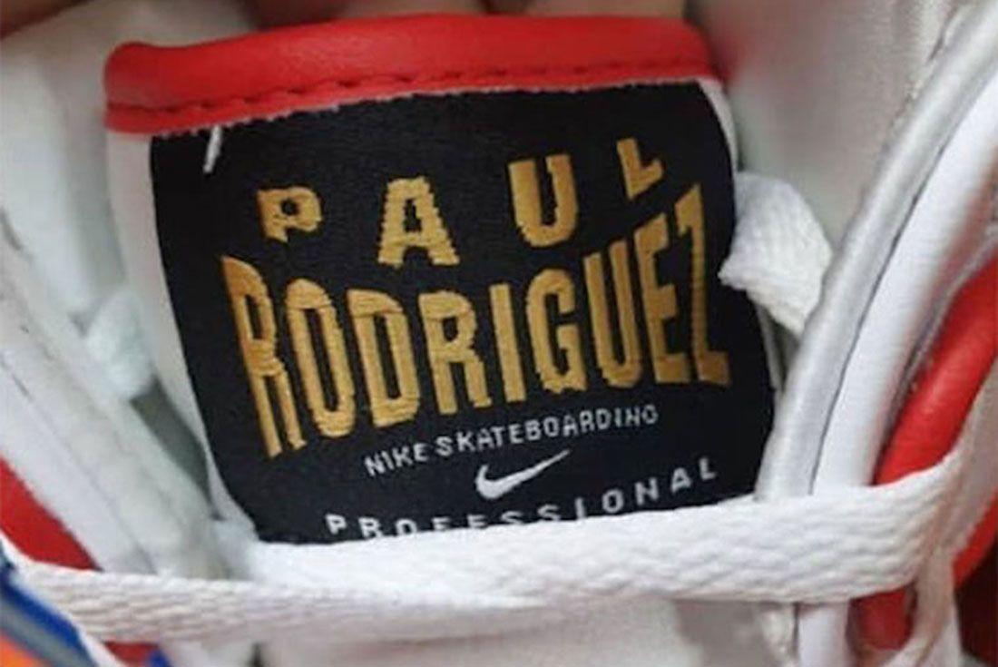 Paul Rodriguez Nike Sb Dunk High Boxing Release Date 5Leaked Shots