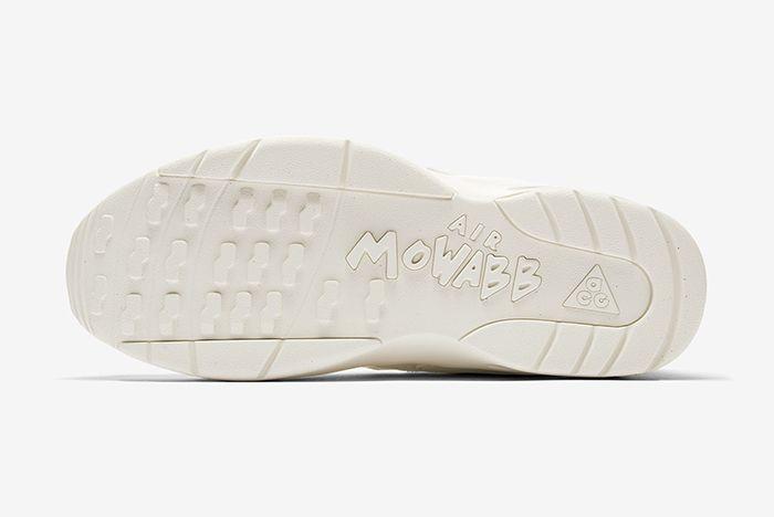 Cdg Nike Acg Mowabb White Snkrs 5