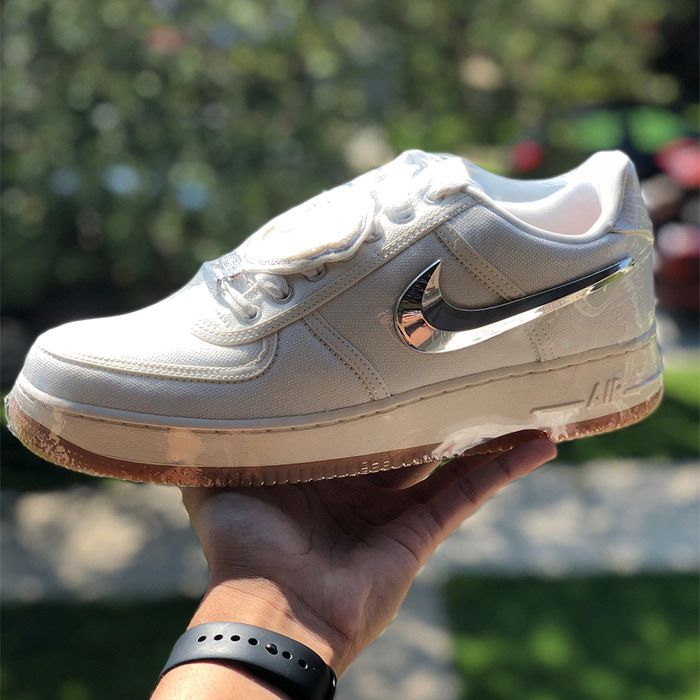 Travis Scott Nike Air Force 1 Sail 3
