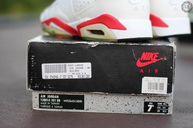 Og Air Jordan 6 Swapped Soles 17