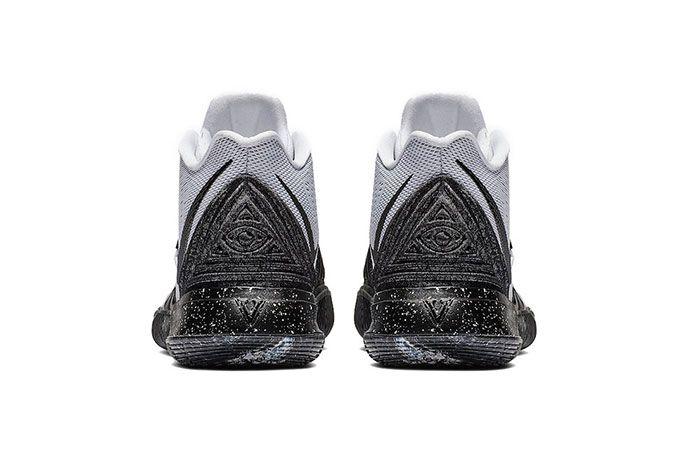 Nike Kyrie 5 Oreo Heel