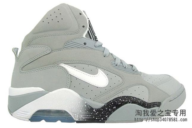 Nike Air Force 180 Grey Profile 2