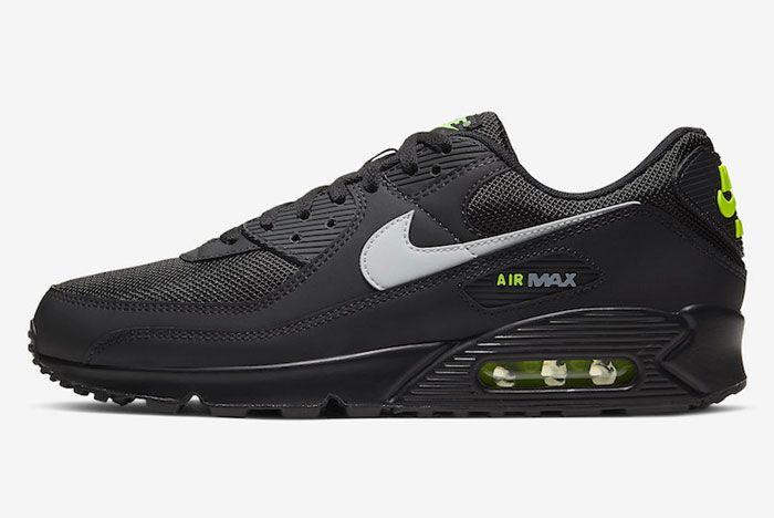 Nike Air Max 90 Black Volt Left