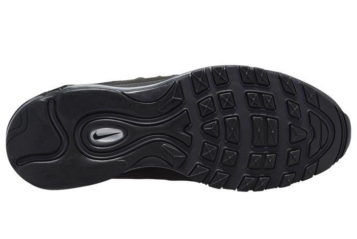 Nike Air Max 98 Black Metallic Silver 640744 013 Release Date Outsole