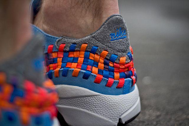 Nike Footscape Woven Chukka Motion University Blue 3