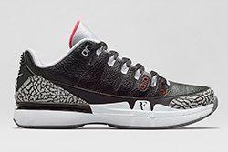 Nike Zoom Vapor Aj3 Black Cement Thumb