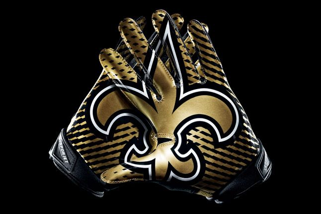 New Orleans Saints Gloves 1